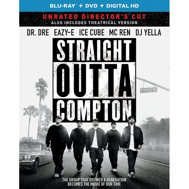 Straight Outta Compton - Unrated Director's Cut [Blu-ray+DVD+Digital HD]
