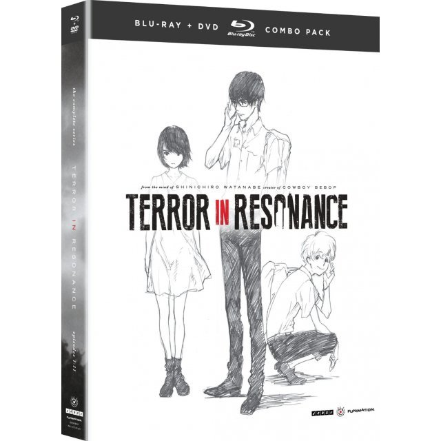 TERROR IN RESONANCE: SEASON ONE COMPLETE SERIES [BLU-RAY+DVD]