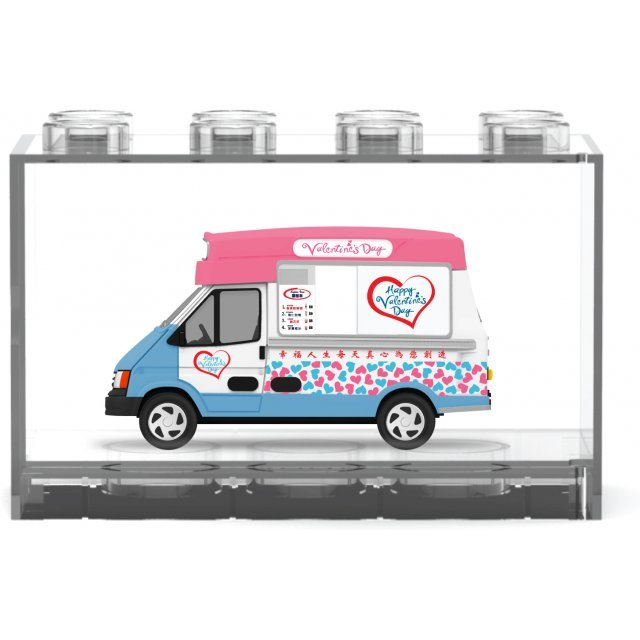 Hong Kong Valentine's Day Ice Cream Truck [Limited Edition Pink]