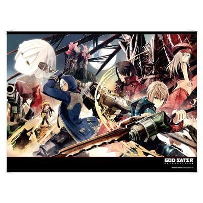 God Eater Resurrection B2 Wall Scroll