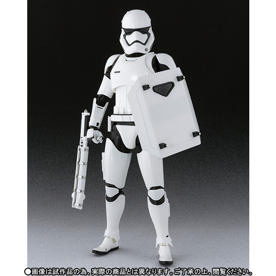 S.H.Figuarts Star Wars: First Order Stormtrooper (Shield & Baton Set)