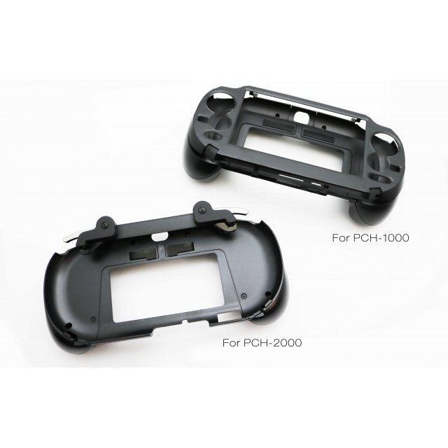 L2/R2 Button Grip Cover for PCH-1000 (Black)