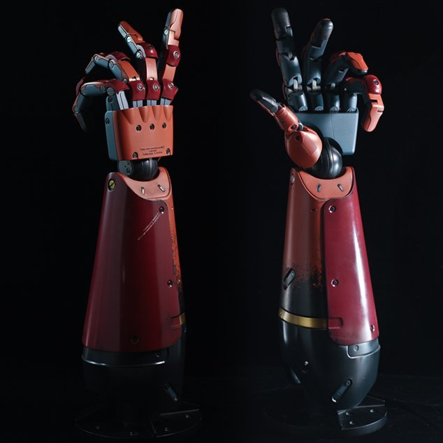 Metal Gear Solid V The Phantom Pain 1/1 Scale: Bionic Arm