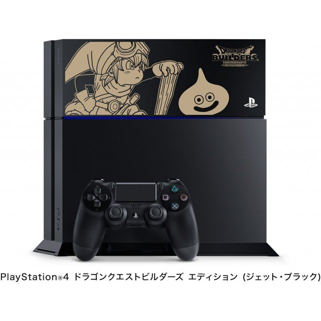 PlayStation 4 System [Dragon Quest Builders Limited Edition] (Jet Black)