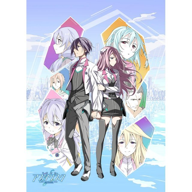 The Asterisk War Mofu Mofu Lap Blanket Key Visual
