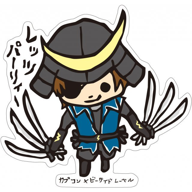 CAPCOM x B-SIDE LABEL Sticker Sengoku Basara L: Date