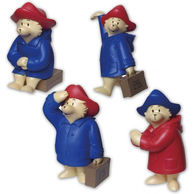 Paddington Bear Trading Figure (Set of 12 pieces)