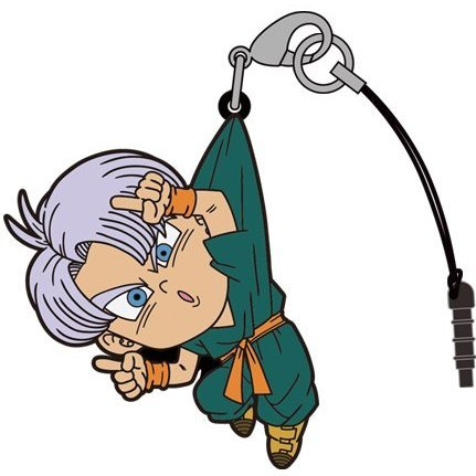 Dragon Ball Super Tsumamare Strap: Trunks Fusion Ver.