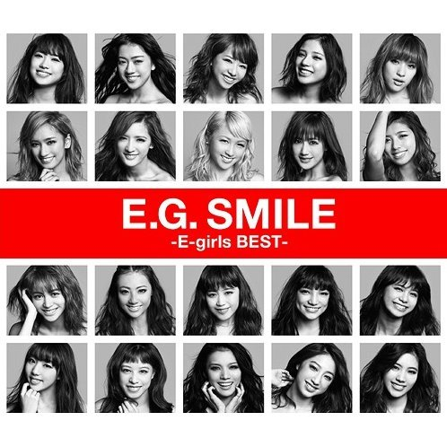 E.G. Smile - E-girls Best [2CD+Blu-ray]