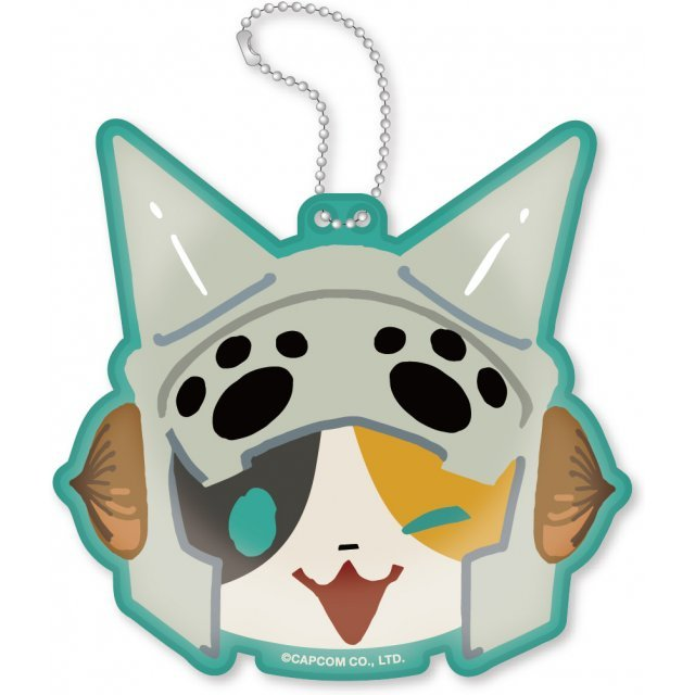 Monster Hunter X Diecut Coin Case: Hunt Neko