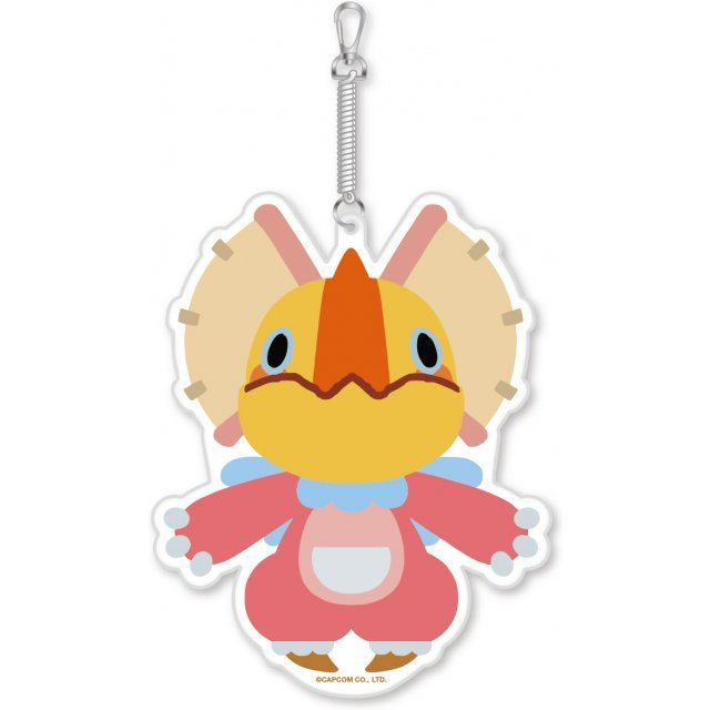 Monster Hunter X Diecut Pass Case: Kut-Ku Neko