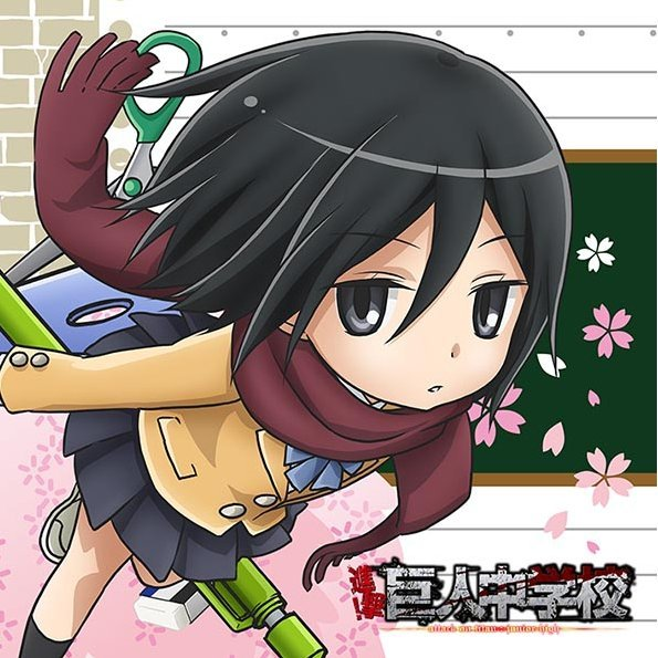 Attack on titan junior high mofu mofu mini towel mikasa voltagebd Images