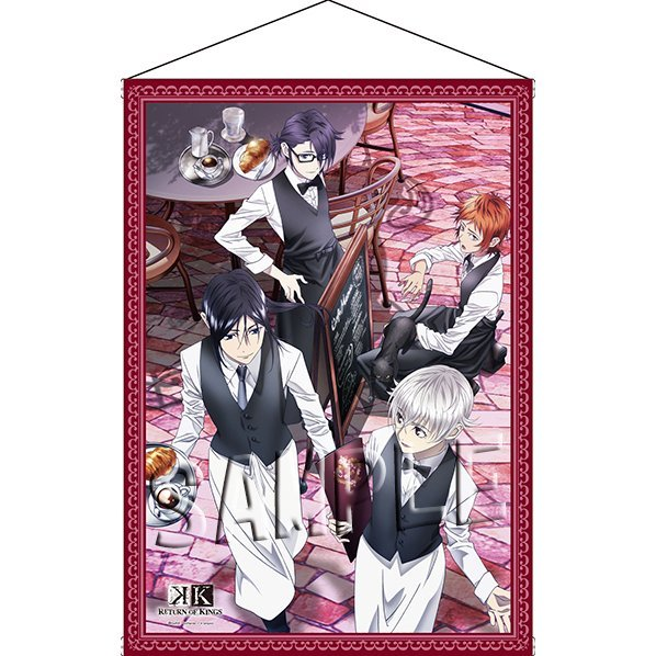 K Return of Kings B2 Wall Scroll: A