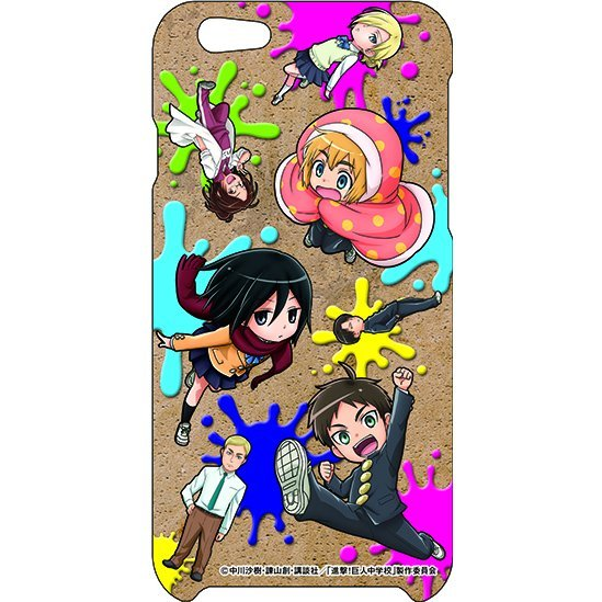 Attack on Titan Junior High iPhone5/5S Case: POP