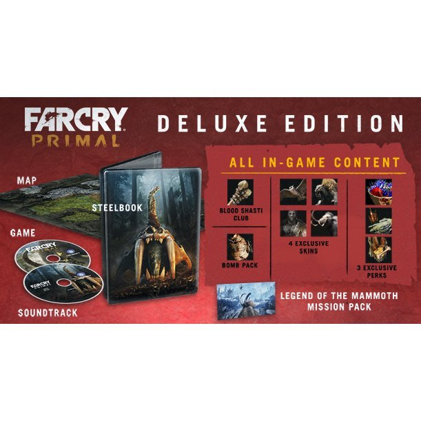 Far Cry Primal Deluxe Edition