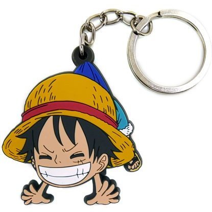 One Piece Tsumamare Keychain: Luffy Childhood Ver.