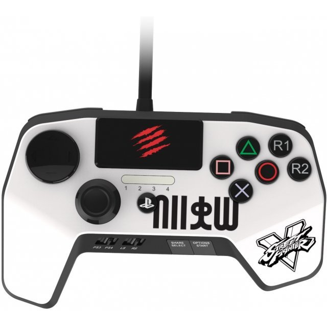Street Fighter V FightPad PRO (Ryu/White)