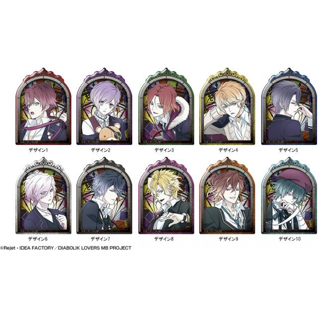 Diabolik Lovers More,Blood Pukutto Badge Collection (Set of 6 pieces)