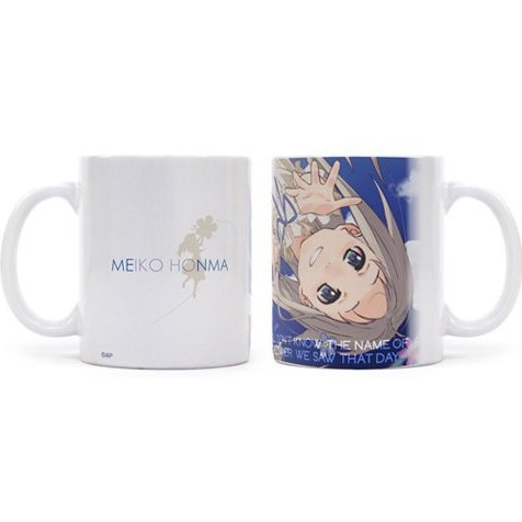 Anohana The Flower We Saw That Day Full Color Mug Cup: Meiko Honma (Re-run)