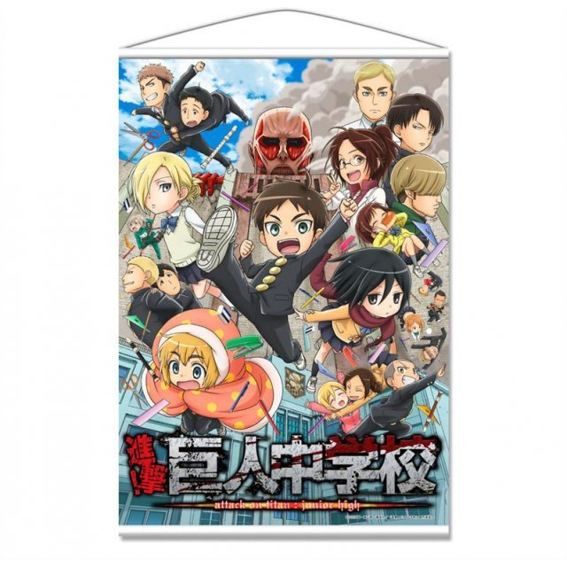 Attack on Titan Junior High B3 Tapestry: A