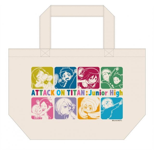Attack on Titan Junior High Tote Bag: A