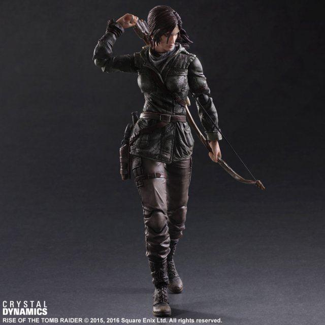 "Square Enix Play Arts Kai Rise Of The Tomb Raider Lara Croft 11/"" Figuren In Box"