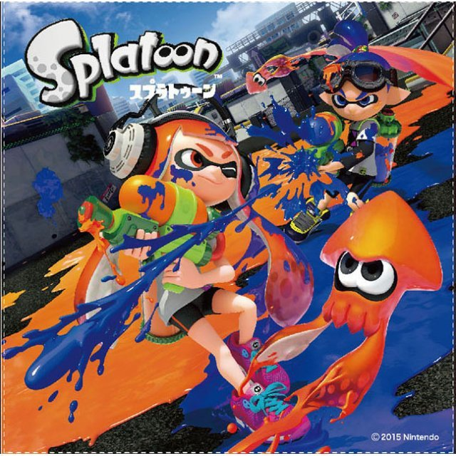Splatoon Lunch Cloth SPT-113: Orange Vs. Blue