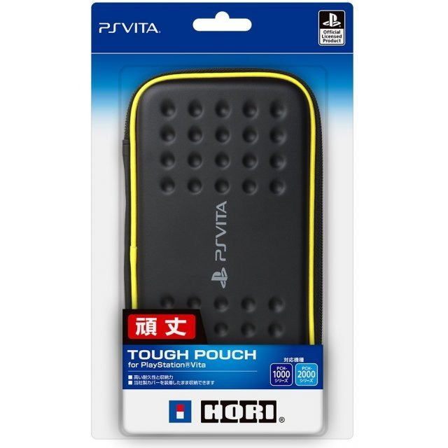 Tough Pouch for PlayStation Vita (Blaxk X Yellow)