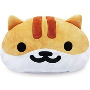Neko Atsume Face Type Tissue Case Cover: Shirochatora-san