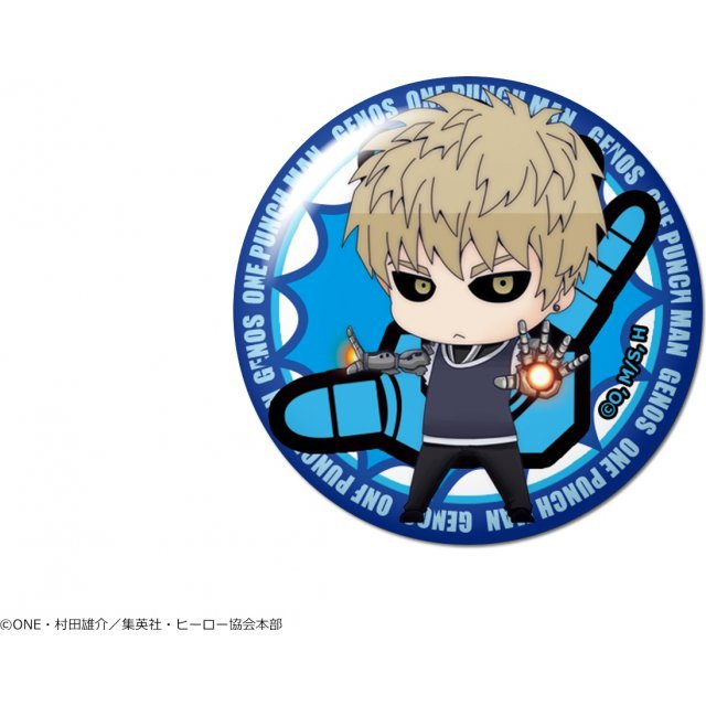 One-Punch Man Dome Magnet: Design 02 Genos