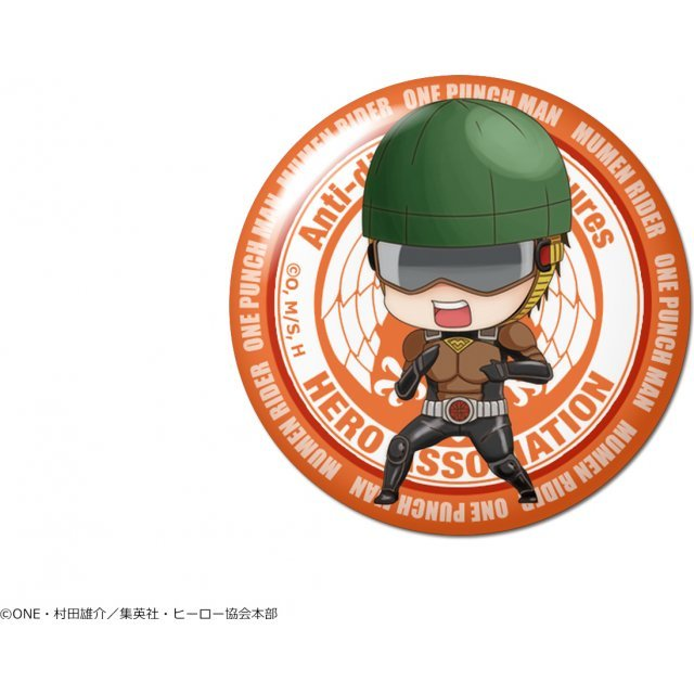 One-Punch Man Dome Magnet: Design 05 License-less Rider