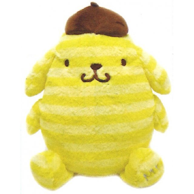 Pom Pom Purin Plush: Boader Purin Series Yellow