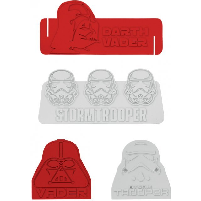 Star Wars Silicon Food Divider: Darth Vader & Storm Trooper