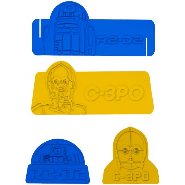 Star Wars Silicon Food Divider: R2-D2 & C-3PO