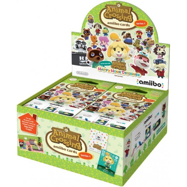 Animal Crossing amiibo Card 42-Pack Series 1 [Box Set]