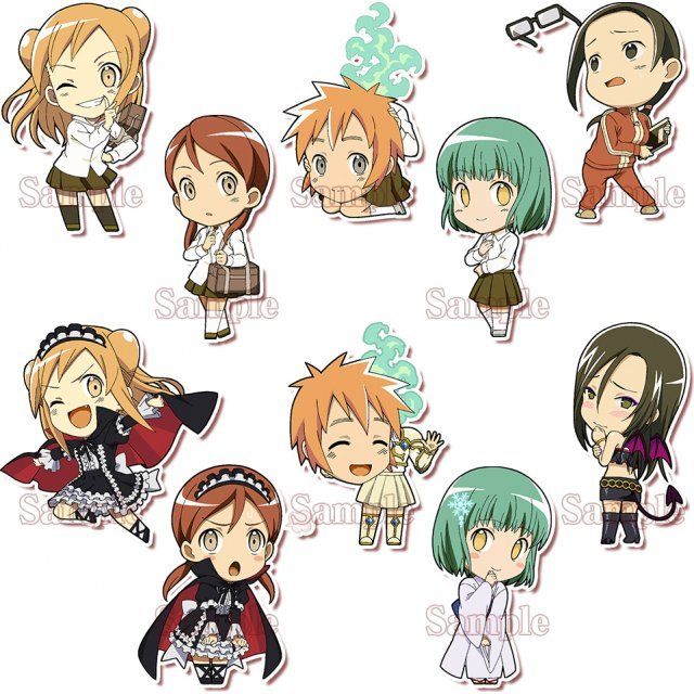 Demi-chan wa Kataritai Trading Acrylic Key Ring: Demi-chans (Set of 10 pieces)