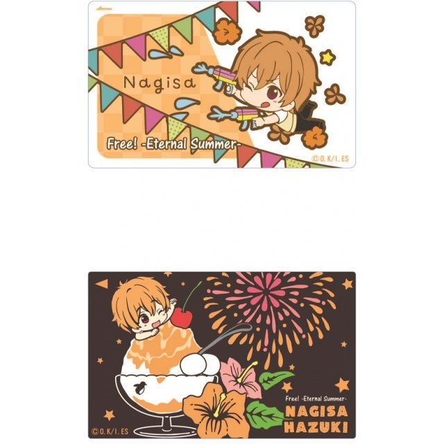 Free! -Eternal Summer- IC Card Sticker Toy's Works Collection 2.5 Sisters: Hazuki Nagisa