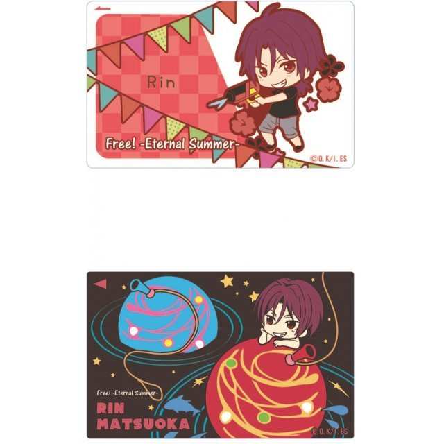 Free! -Eternal Summer- IC Card Sticker Toy's Works Collection 2.5 Sisters: Matsuoka Rin