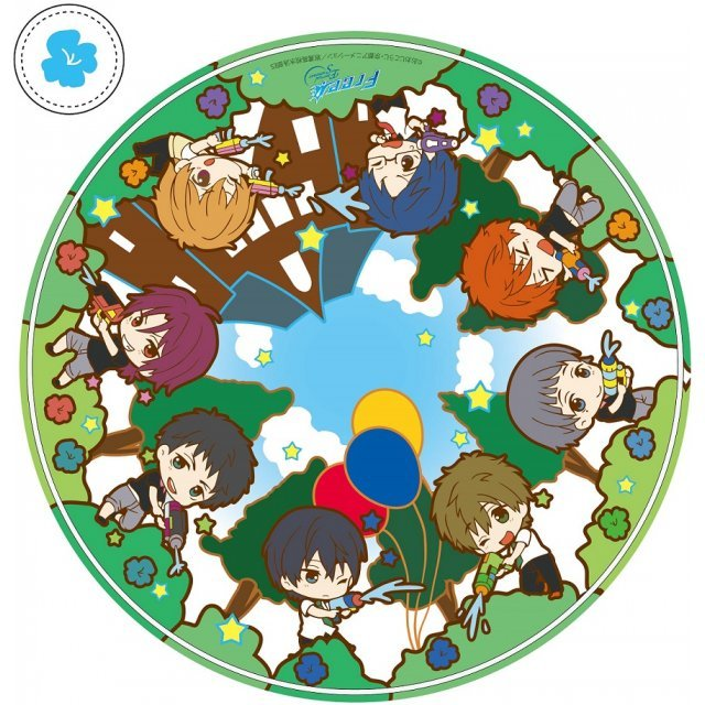 Free! -Eternal Summer- Toy's Works Collection 2.5 Sisters Pukapuka Liquid Mouse Pad