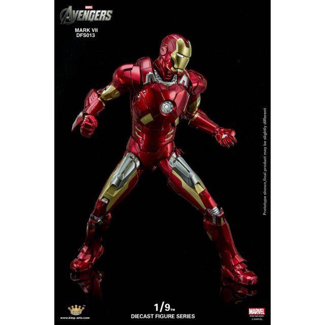 King Arts Iron Man Mark VII 1//9 figurine articulée
