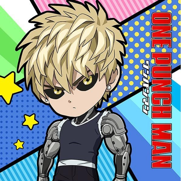 One-Punch Man Mofu Mofu Mini Towel: Genos