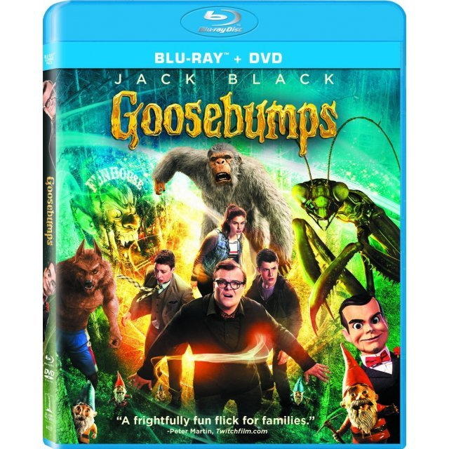 Goosebumps [Blu-ray+DVD]