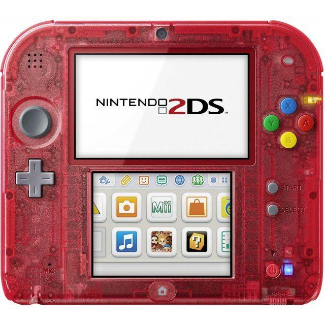 nintendo 2ds pocket monster red limited pack