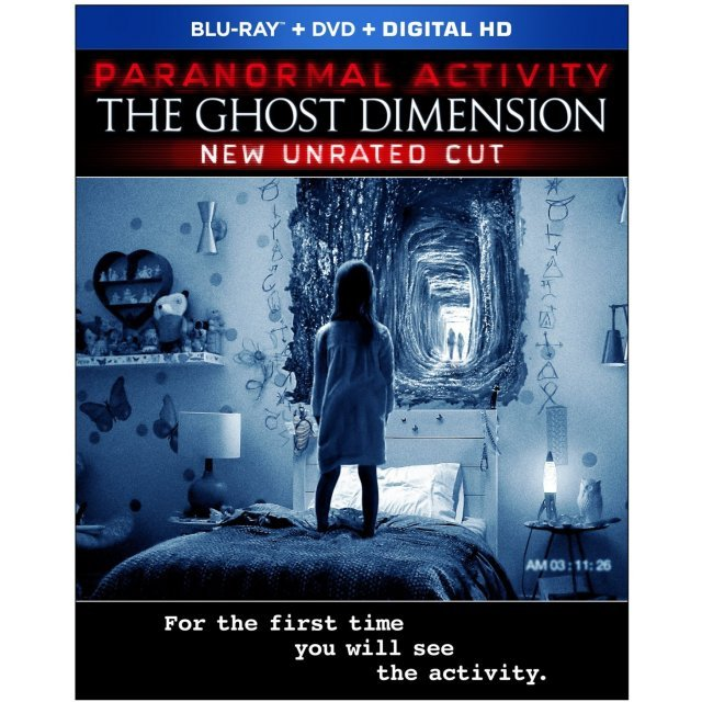 Paranormal Activity: The Ghost Dimension (New Unrated Cut) [Blu-ray+DVD+Digital HD]