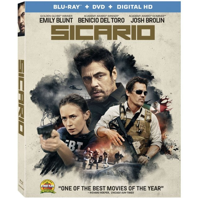 Sicario [Blu-ray+DVD+Digital HD]