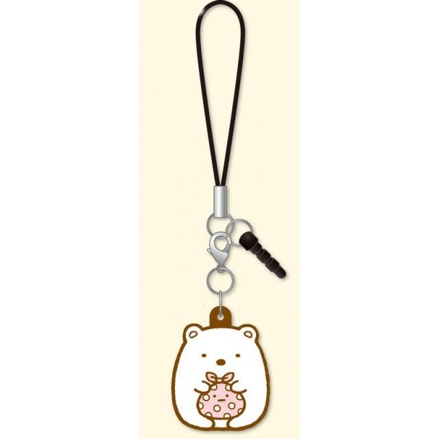 Sumikkog Gurashi 3way Rubber Strap: Shirokuma