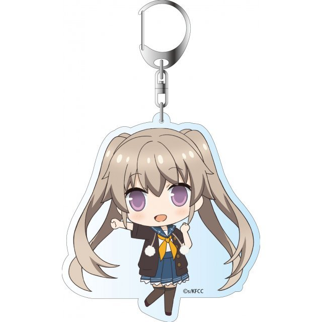 Ao no Kanata no Four Rhythm Deka Key Chain: Arisaka Mashiro
