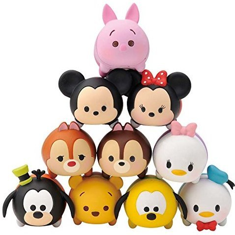 Disney Tsum Tsum Tsumu-Tsumu (Set of 10 pieces)
