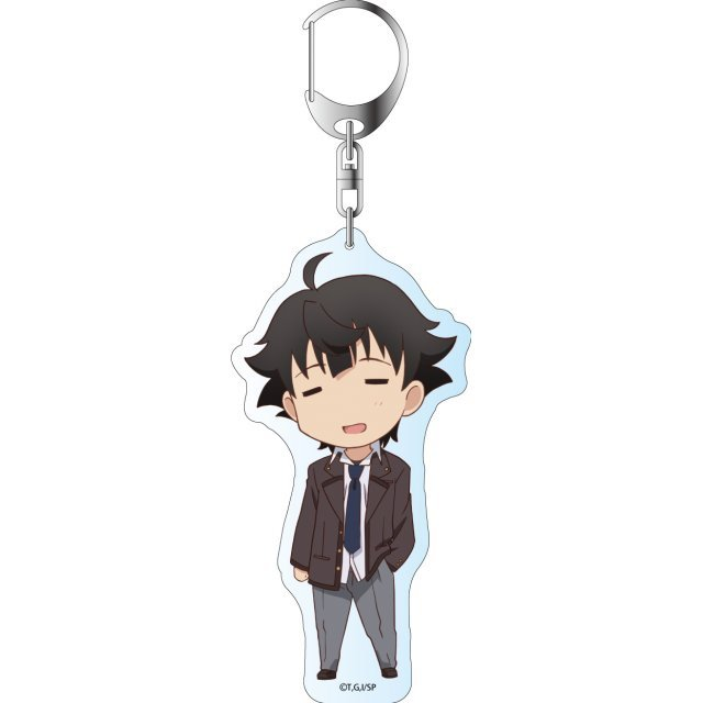 I Was Abducted by an Elite All-Girls School as a Sample Commoner Deka Key Chain: Kagurazaka Kimito