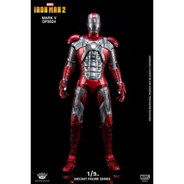 King Arts Avengers 1/9 Diecast Figure Series: Iron Man Mark 5